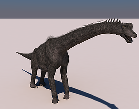 3D model Brachiosaurus Dinosaur dino