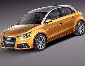 3D Audi A1 Sportback 2013
