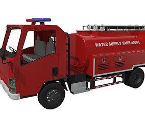Fire truck Rescue Medium 4KL 3D