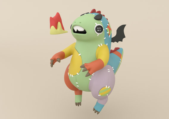 FluffyDwagon (concept by Benjamin Denkert)