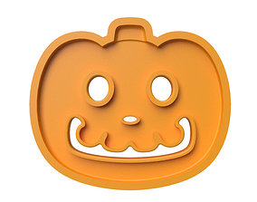 3D printable model Cookie cutter Animal Crossing Pumpkin