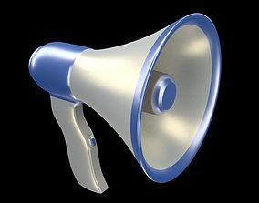 3D Horn loudspeaker speaking