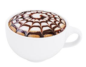 Cappuccino cup 2 3D