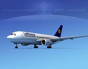 Boeing 767-200ER Lufthansa 3D