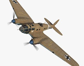 Heinkel He 111 S7-HA 3D model