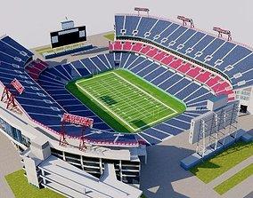 Nissan Stadium - Nashville USA 3D asset