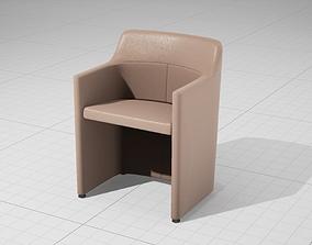 3D model MolteniC Lyz Chair UE4