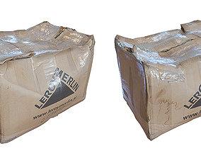 3D asset Ultra realistic Cardboard box Pbr
