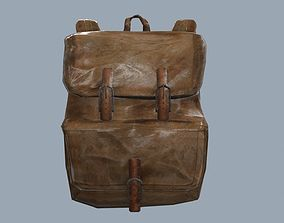 3D model Survival Backpack