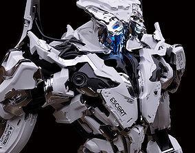 Armed Escort - Mech Burst 3D print model