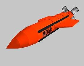 GBU-43 MOAB 3D