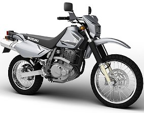 Suzuki DR650SE 2015 3D model