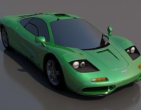 vehicle McLaren F1 3D model