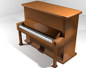 Piano - Upright 3D