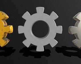 3D model Gears Pack