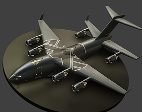 AOS - The Bus - C17 Globemaster 3D asset