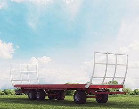 3D model trailer 18 am 146