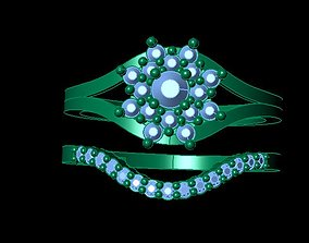 3D print model Fashion Twin Ring