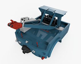 Industrial wrecker parts 3D model