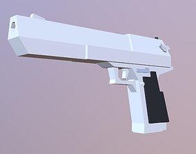 Desert Eagle 3D asset VR / AR ready