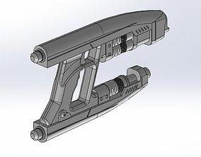3D printable model toy Star Lord Gun Blaster