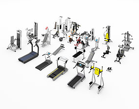 hobby 3D Gym Equipment
