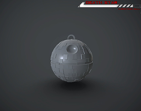 Death Star Christmas Ball 3D print model