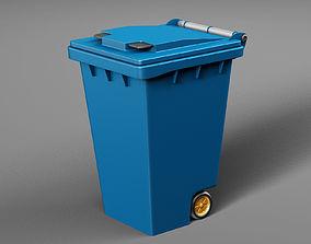 3D model Trash Container park