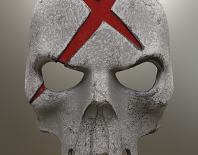 3D printable model Red X Mask