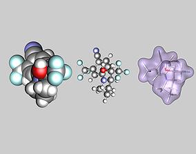 3D Ligandrol molecule