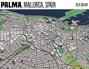 3D model Palma