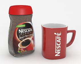 Nescafe set mug 3D