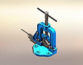 3D model Pipe Bench - Morsa de Tubo