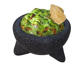 Guacamole 3D asset