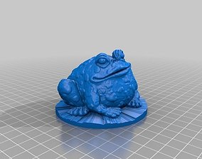 3D printable model Garden Toad