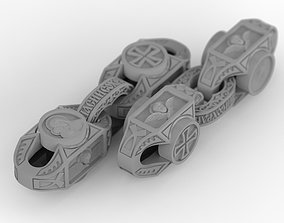 Church chain with inserts 3D print model