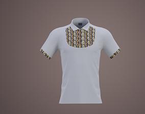 3D model Dashiki golfer