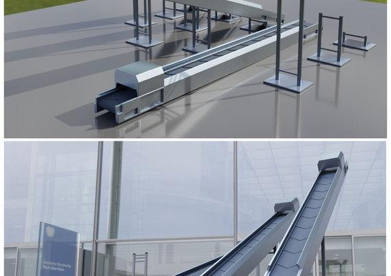 Modular Conveyor Belt (Not Animated)