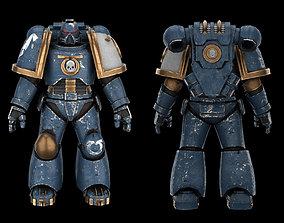 3D model Warhammer Marine Soldier soldier