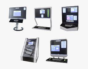 Minimalistic Computers Set 3D model
