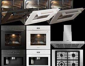 3D miele cooking appliances collection