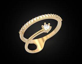 3D print model Stylish rings for girls