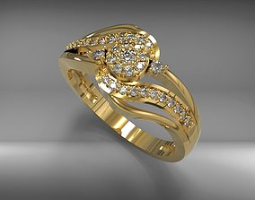 3D Print Ring Model 05