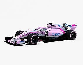 Force India VJM11 Car 3D model