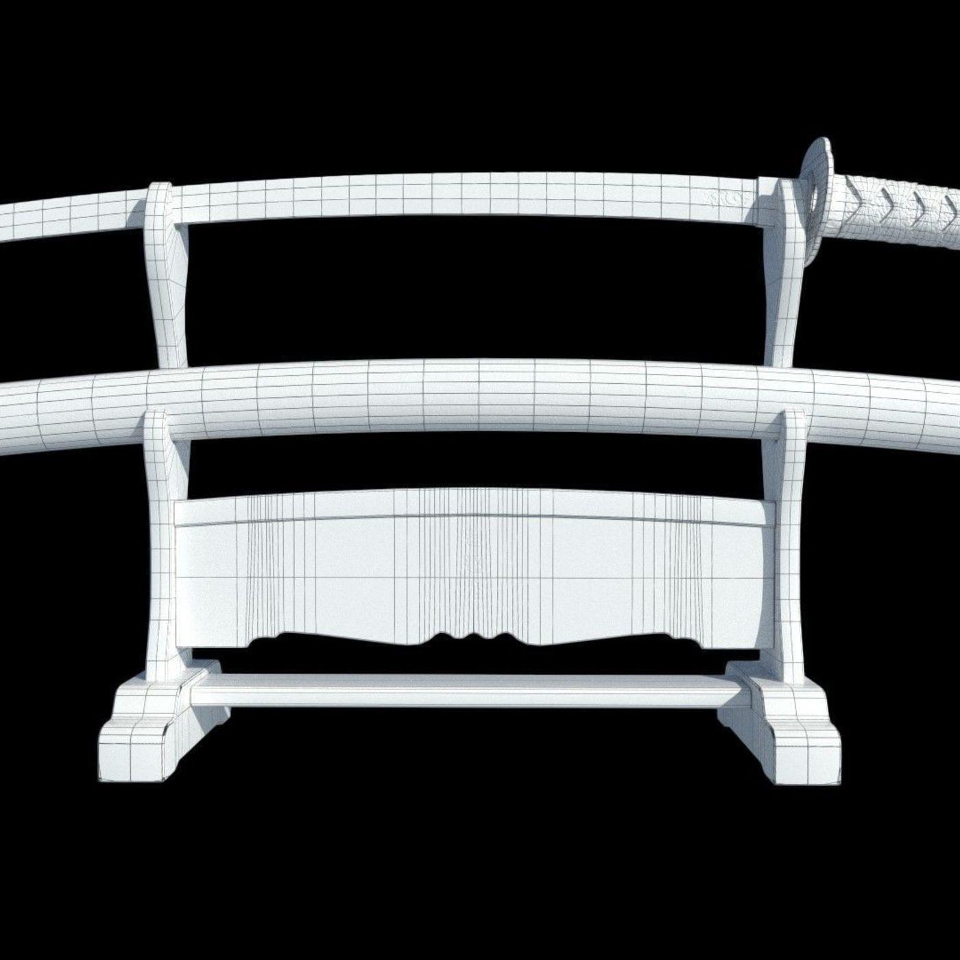 Katana Sword & Stand