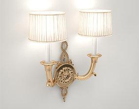 Pro - Tisserant Wall Lamp 24723 3D