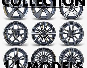 3D Car Rim Wheel Collection volume 2