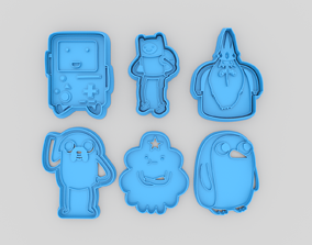 3D printable model Adventure time set