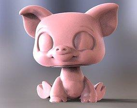 3D print model piggy