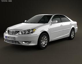 Toyota Camry XV30 2004 3D